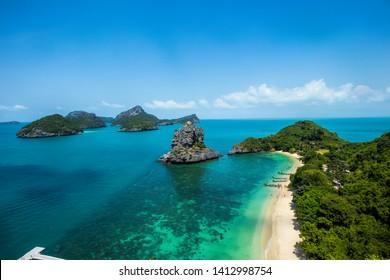 Angthong, National Marine Park, Ko Samui, Thailand