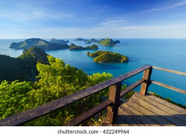 Angthong national marine park view point, koh Samui, Suratthani, Thailand