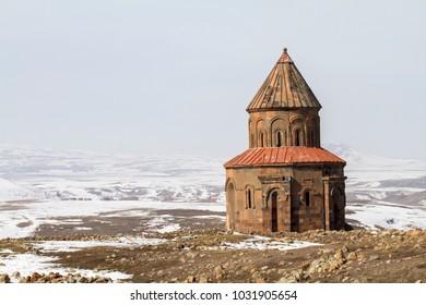 Ani Ruins in Kars, Turkey.