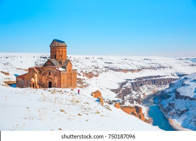 Ani Ruins, Ani is a ruined and uninhabited medieval Armenian city-site situated in the Turkish province of Kars