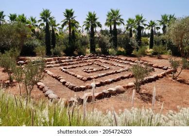 Anima - Andre Heller's imaginative botanical garden, Marrakech, Morocco.