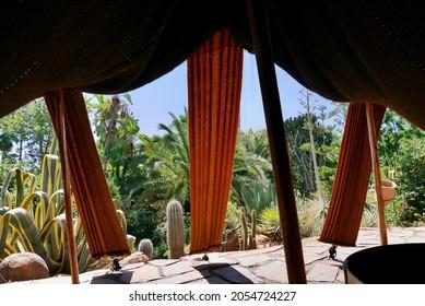 Anima, Andre Heller's imaginative botanical garden in Marrakech, Morocco.