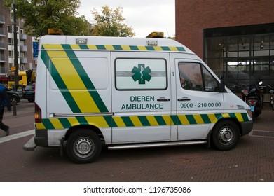 Animal Ambulance At Amsterdam The Netherlands 2018