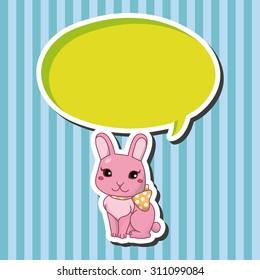 animal cartoon, cartoon speech icon