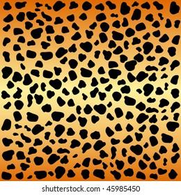 Animal cheetah spots pattern