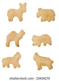 Animal Crackers, isolated
