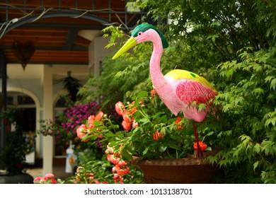 Animal decoration in the garden