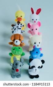animal finger puppets