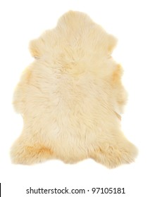 Animal fur on a white background.