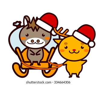 Animal Series carry the gift of Christmas
