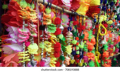 Animal's decoration items ready for sale in the market of Pakistan.