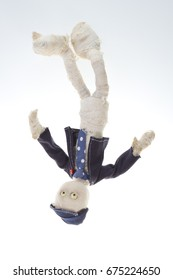 animation animated puppet hand made mummy doll