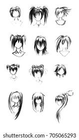 anime avatar watercolor