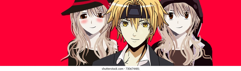 Anime Images, Stock Photos & Vectors