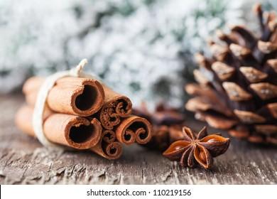 anise and cinnamon for christmas
