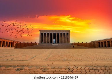 Anitkabir - Mausoleum of Ataturk, Ankara Turkey