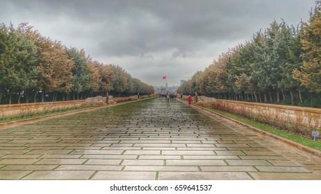 Anitkabir - Mausoleum of Ataturk, The Great Leader, Aslanli Yol, Ankara Turkey