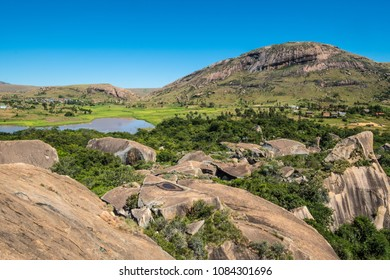 Anja Community Reserve, at the base a large cliff with a sheltered forest habitat among vast boulders with rich wildlife. ome to the highest concentration of maki, or ring-tailed lemurs, in Madagascar