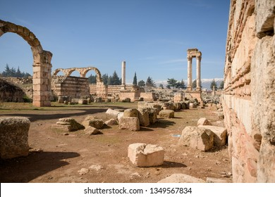 Anjar Umayyad palace sits on a former Roman settlement with thermal baths, a mosque and a palace.