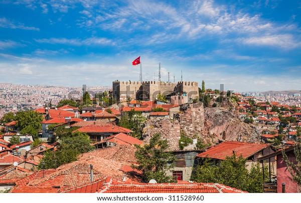 トルコのアンカラの首都アンカラ城