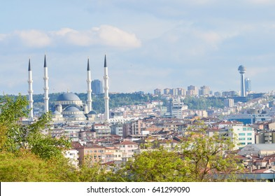 Ankara city skyline in springtime - Ankara, Turkey
