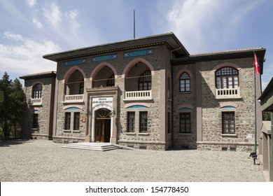 ANKARA - SEP 10: First Turkish Parliament Building (Repuclic Museum now) on Sep 10, 2013 in Ankara , Turkish Republic was founded by under the leadership of Mustafa Kemal ATATURK on the building.