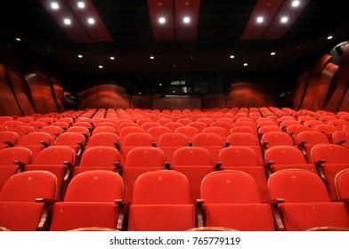 The Ankara State Theater  and AKUN HALL in Turkey. TUNALI Ankara Turkey 13 November 2015