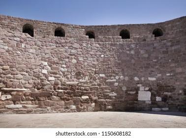 ANKARA. TURKEY. 12 APRIL 2013 : Wall of Ankara Castle. Turkey