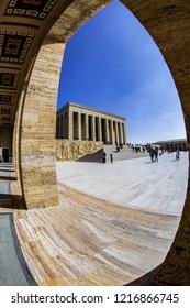 Ankara, Turkey - Anitkabir Mausoleum of Ataturk.