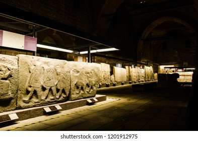 Ankara- Turkey - August 2018: Museum of Anatolian Civilizations.