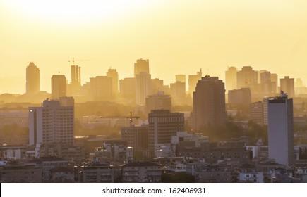 Ankara, Turkey, City silhouette