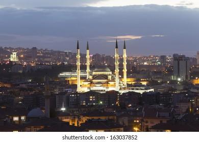 Ankara, Turkey - Kocatepe mosque