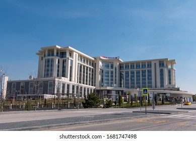 Ankara / Turkey - March 21 2020: The Ministry of Health is under pressure and attention as new corona virus cases keep on emerging in Turkey.