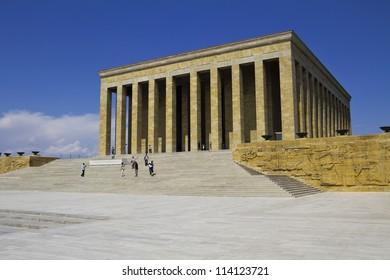 Ankara, Turkey - Mausoleum of Ataturk, Mustafa Kemal Ataturk