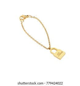 anklet jewelry In the form of love