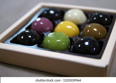 Ankodama,Japanese traditional cake, bean jam ball.