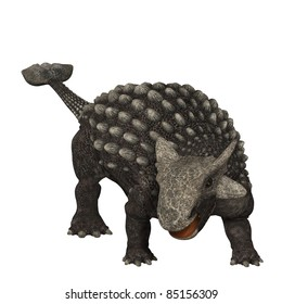 Ankylosaurus 01 - Ankylosaurus was an armored dinosaur from the Creataceous Period of Earths history. Its fossils have been discovered in western North America.