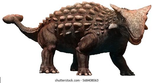 Ankylosaurus 3D illustration