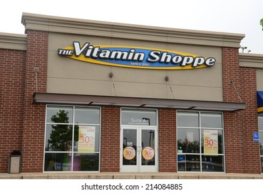 ANN ARBOR, MI - AUGUST 24: The Vitamin Shoppe, whose Ann Arbor store is shown on August 24, 2014, has over 659 stores in 44 states.