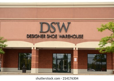 ANN ARBOR, MI - AUGUST 24: DSW, whose Ann Arbor store  is shown on August 24, 2014, has almost 400 stores in the  United States and Puerto Rico