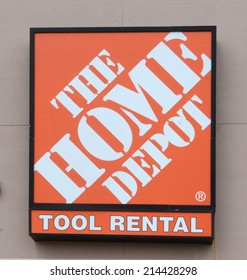 ANN ARBOR, MI - AUGUST 30: Home improvement retailer Home Depot, whose Ann Arbor store logo is shown on August 30, 2014, is the fourth largest retailer in the United States.