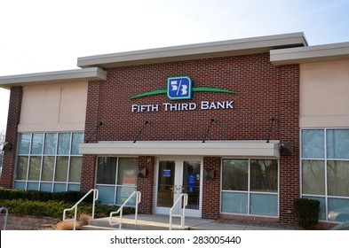 ANN ARBOR, MI - DECEMBER 22:  Fifth Third Bank, whose north Ann Arbor location is shown on December 22, 2014, operates 15 affiliates with more than 1,300 locations