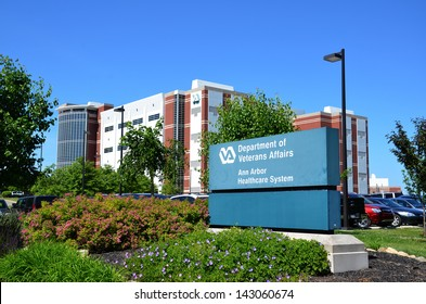 ANN ARBOR, MI - JUNE 17: The Department of Veterans Affairs has hired 1600 mental health staff, including eight at the Ann Arbor Healthcare System, shown here on June 17 in Ann Arbor, MI