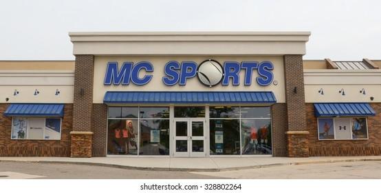 ANN ARBOR, MI - JUNE 7: MC Sports, whose Ann Arbor store is shown on June 7, 2015, has 75 locations.