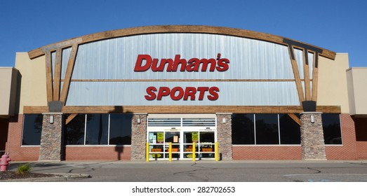 ANN ARBOR, MI - SEPTEMBER 7: Dunham's, whose west Ann Arbor store is shown on September 7, 2014, has over 200 stores in 19 states