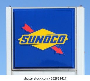 ANN ARBOR, MI - SEPTEMBER 7: Sunoco, whose west Ann Arbor store logo is shown on September 7, 2014, has over 4,700 outlets.