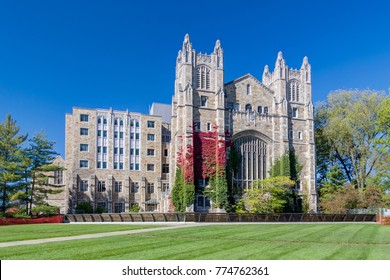 ANN ARBOR, MI/USA - OCTOBER 20, 2017: University of Michigan Law School Library on the campuus of the University of Michigan.