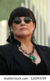 Ann Wilson at the induction ceremony for Heart into the Hollywood Walk of Fame, Hollywood, CA 09-25-12