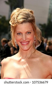 Anna Gunn  At the 60th Primetime Creative Arts Emmy Awards Red Carpet. Nokia Live Theater, Los Angeles, CA. 09-13-08