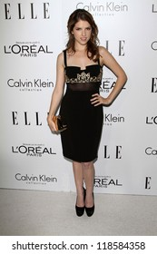 Anna Kendrick at the Elle Magazine 17th Annual Women in Hollywood, Four Seasons, Los Angeles, CA 10-15-12